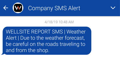 SMS Communications now available!