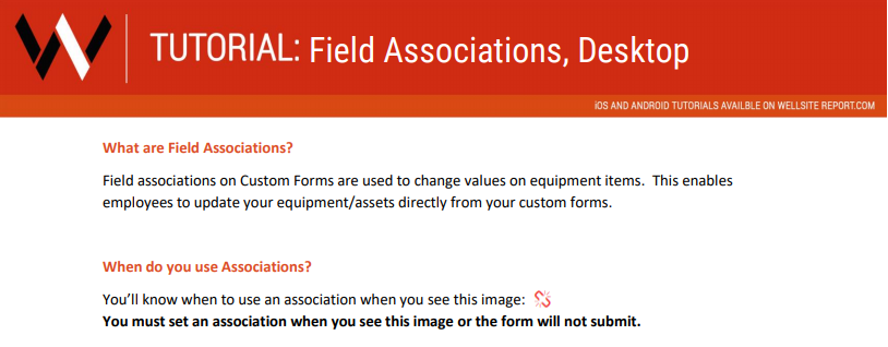Teaser of the Field Association Downloads