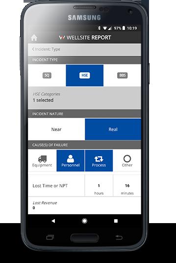 WSR Mobile App